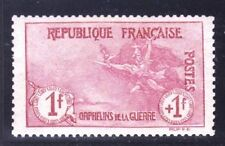 "FRANCE STAMP TIMBRE N° 154 "" ORPHELINS 1F+1F "" NEUF xx TTB, VALEUR:1562€"
