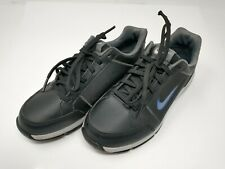 Nike Size 4 Youth Nike Golf Shoes Black with Blue