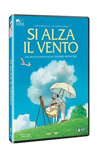 SI ALZA IL VENTO DI HAYAO MIYAZAKI - STUDIO GHIBLI (DVD) NUOVO, ITALIANO