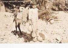 RP: Tipico Conjunto [Boy & Donkey] , Mexico ,30-40s