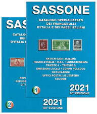 CATALOGO VENDITA  SASSONE 2021 - I e II volume