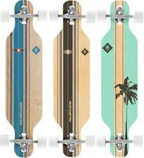 ROLLERCOASTER Longboard Skateboard Komplett PALMS + STRIPES THE ONE EDITION Drop