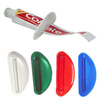 4 Ez Plastic Tube Squeezer Toothpaste Dispenser Holder Rolling Bathroom Extract