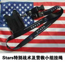 COOL Resident Evil Stars Lanyard Neck Strap Double Sided ID Holder Card