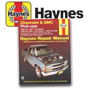 Haynes Repair Manual New for Chevy Suburban Chevrolet K1500 Truck K2500 24065