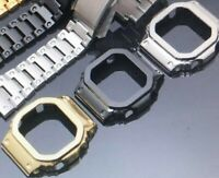 Silver Black Gold Casio G-SHOCK 5600 metal BEZEL 316L stainless steel