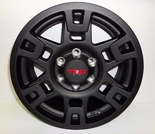 """4Runner TRD PRO 17"""" Black Matte Wheel Genuine OEM OE"""