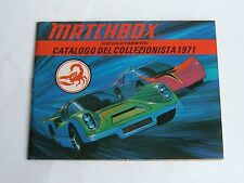 Very Rare Italian Matchbox Toys Catalogue, Dated 1971, - Superb Mint.
