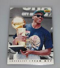 1992-93 Upper Deck Michael Jordan Team MVPs