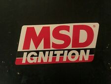 MSD Ignition decal sticker nascar arca contingency crane cams Mallory hot rod
