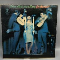 Peter, Paul and Mary In Concert Double LP Vinyl Album Warner Bros. 2WS 1555