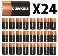 24 NEW DURACELL COPPERTOP Size C Alkaline Energized Batteries FREE SHIPPING