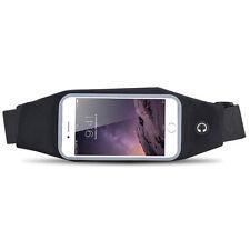 """Universel 4.7"""" Sport Etanche Jogging Hanche Ceinture Sac pour iPhone 6 6S BK"""