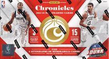 2017/18 PANINI CHRONICLES BASKETBALL HOBBY BOX BLOWOUT CARDS