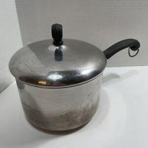 Vintage Farberware 2 1/2 ( 2.5 ) Qt Quart Saucepan w/ Lid Stainless Steel Pot