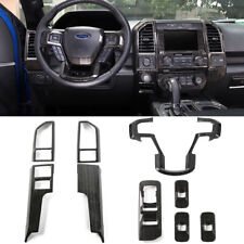 Fit F150 Center Console Panel Interior Trim Accessories Window Lift Switch Cover