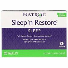 Natrol  Sleep  n Restore  20 Tablets
