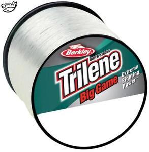 Berkley Trilene Big Game CLEAR Monofilament Fishing Line - All Breaking Strains