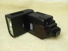 Canon Fit Sigma EF-500 DG ST Flash Speedlight  Auto ETTL + new batteries free pp