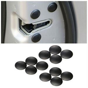 12x Universal Car Door Lock Screw Protector Interior Cover Cap Trim Accessories