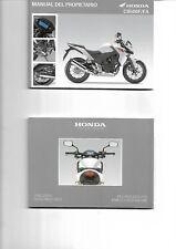 Manual del propietario HONDA CB500F/FA  2012 -   ENVIO GRATIS EN EL  MUNDO