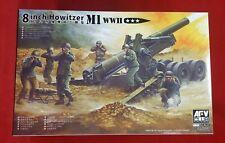 AFV Club 1/35 AF35321 WWII US Army M1 8 Inch Howitzer  with Metal Barrel