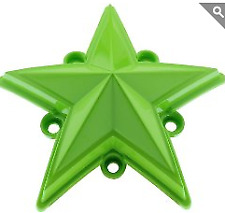 KMC XD 827 Rockstar 3 GREEN Replacement Star (5 pack) Fits S1004-04 Caps ONLY