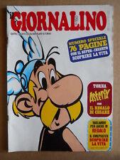 GIORNALINO n°12 1975 Asterix  + inserto La Vita  [G554]