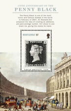 Montserrat - 2015 175th Anniversary of the Penny Black - Souvenir Sheet - MNH