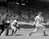 Stan Musial Campanella Photo 8X10  Cardinals Dodgers 1956  Buy Any 2 Get 1 FREE