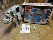 1981 Vintage Star Wars AT-AT COMPLETE Original Kenner Action Figure Vehicle wBox