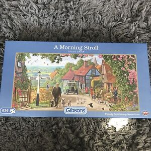 GIBSONS 'A Morning Stroll' 636 Piece Jigsaw Puzzle