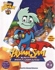 Pajama Sam in No Need To Hide When It's Dark Outside PC New Box
