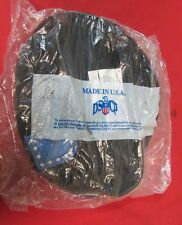 New Army 1593 Black Wool Beret w/ Blue Flashes Size 7