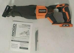 RIDGID 18 VOLT GEN4X LITHIUM CORDLESS RECIPROCATING SAW - R8641 TOOL ONLY