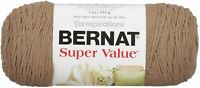 Bernat Super Value Solid Yarn-Honey, 164053-7469