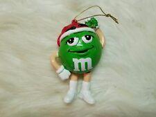 """M&M's Green Ornament 4.5"""" Tall"""