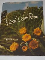 Wilbur Clark's DESERT INN Painted Desert Room Dinner MENU January 1956