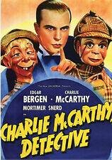Charlie McCarthy, Detective - Classic Movie - DVD