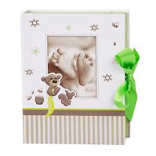 Goldbuch Baby Schatzkästchen 85338 inklusive Karte - Serie Babyalbum Honigbär