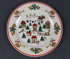 "jamestown china the joy of christmas salad dessert plates 7.5""  *  set of 6"