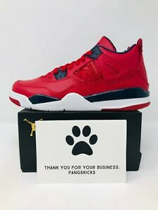 Nike Air Jordan 4 Retro 'FIBA' BQ7669-617 PS Size 10.5C