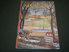 1967 MARCH 18 NEW YORKER MAGAZINE - BEAUTIFUL FRONT COVER FOR FRAMING- O 5125
