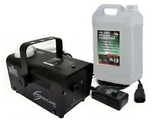 Chauvet H700 Hurricane 700 De Humo Fog Machine + Control Remoto & 5l fluido Party Dj Disco