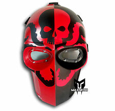 MAXNETO Paintball BB Gun Airsoft Cosplay DJ Costume Protection Mask Helmet HYDRA