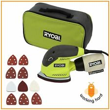 CORNER CAT SANDER Ryobi 1.2 Amp Corded Electric Hand Power Tool Detail Sanding