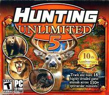 Hunting Unlimited 5  (PC, 2010) -NIB..