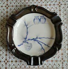 Thomas Bavaria.Ivory.Aschenbecher mit Silberauflage.14 cm Durchmesser.