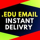 """EDU Email Student US School Educational Many BENEFITS """"CHEAP"""" Fast Delivery"""