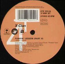X-CLAN - Funkin' Lesson - 4th & Broadway - 12 BRW 187 - Uk